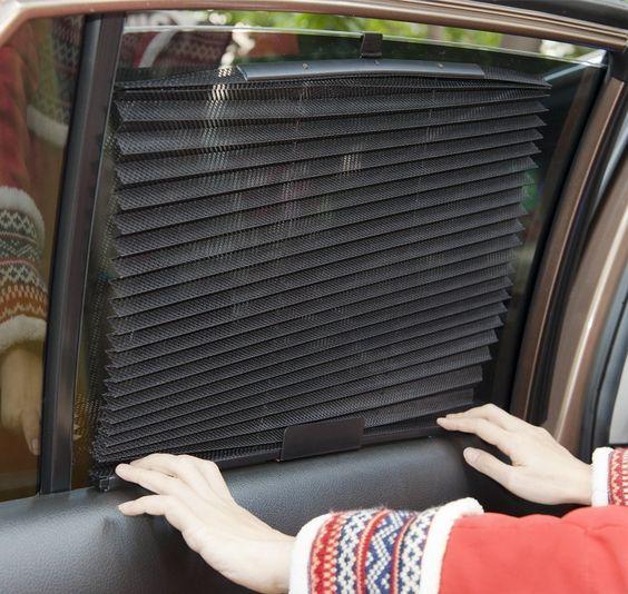 Amazoncom Car Folding Window Sun Shades XShade Car Sunshades