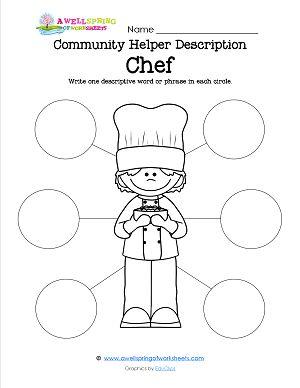 math worksheet : in these community helpers matching worksheets kids draw a line  : Community Helpers Worksheets Kindergarten