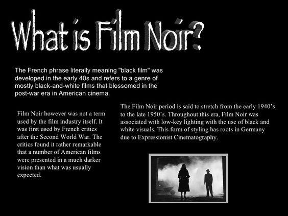 film noir definition - Google Search | Film Noir | Pinterest ...