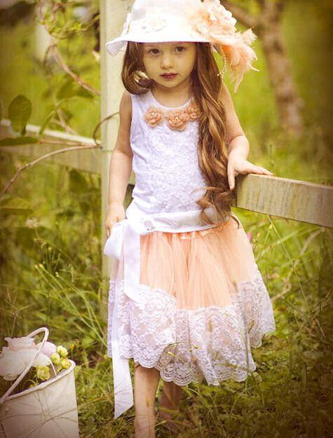 Peach Jewel Vintage Tutu Outfit-Peach Jewel Vintage Tutu Outfit ...