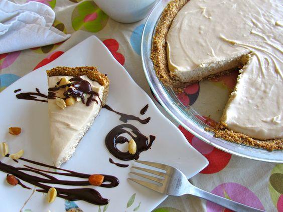 4-Ingredient Peanut Butter Pie