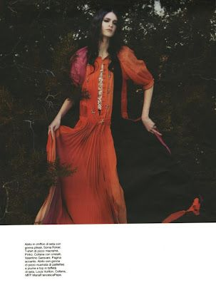 D Magazine March 2012  Model:  Annabelle Tsaboukas  Photographer:  Luis Sanchis  Stylist:  Roberta Rusconi  Makeup:  Jamie Greenberg  Hair:  Lesly McMenamin
