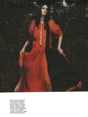 D Magazine March 2012  Model:  Annabelle Tsaboukas  Photographer:  Luis Sanchis  Stylist:  Roberta Rusconi  Makeup:  Jamie Greenberg  Hair:  Lesly McMenamin