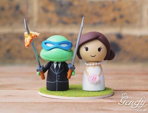 Gorgeous Geeky Cake Toppers - Teenage Mutant Ninja Turtle ...