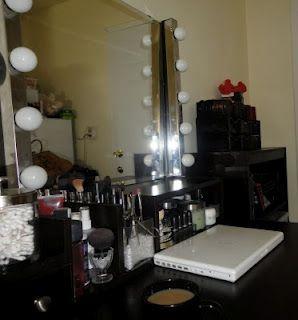 Lighted mirror girls and on my own on pinterest - Illuminated bathroom mirrors ikea ...