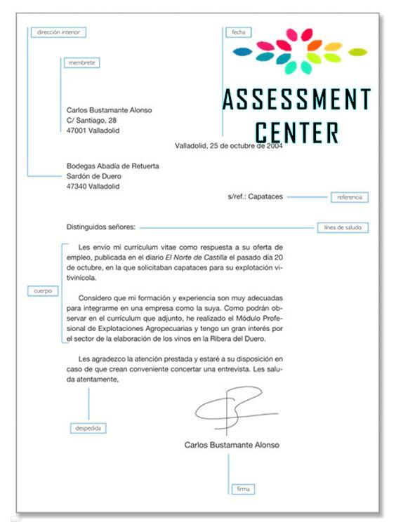 modelo de una carta de presentaci u00f3n   u0026quot formas de redactar el curriculum vitae u0026quot