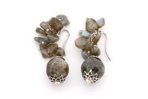Labradorite Carlita Earrings for more https://goo.gl/JzmI53  55.65 $ #CarlitaEarrings