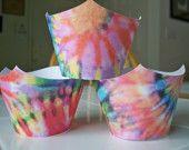 Tie-dye Fun Cupcake Wrappers
