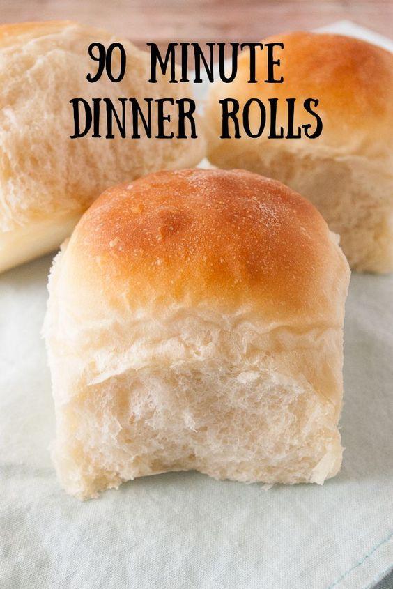 90 Minute Dinner Rolls