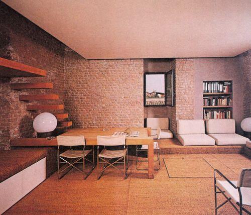 Gae aulenti apartment gaeaulenti interior estilos for Apartment design rome