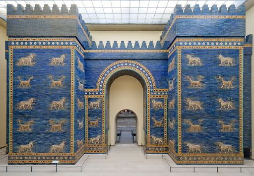 Ishtar Gate Reconstruction Of The Outer Gate Unknown Google Arts Culture Ishtar Architecture History Pergamon Museum