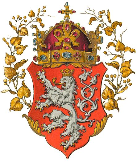Coat Of Arms Of The Kingdom Of Bohemia And The House Of