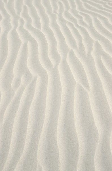 Contour lines in the sand created by the waves. I love the softness this creates, it would make an interesting print pattern.