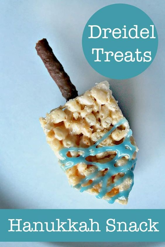 Fun dreidel snack Hanukkah party food for kids - NurtureStore