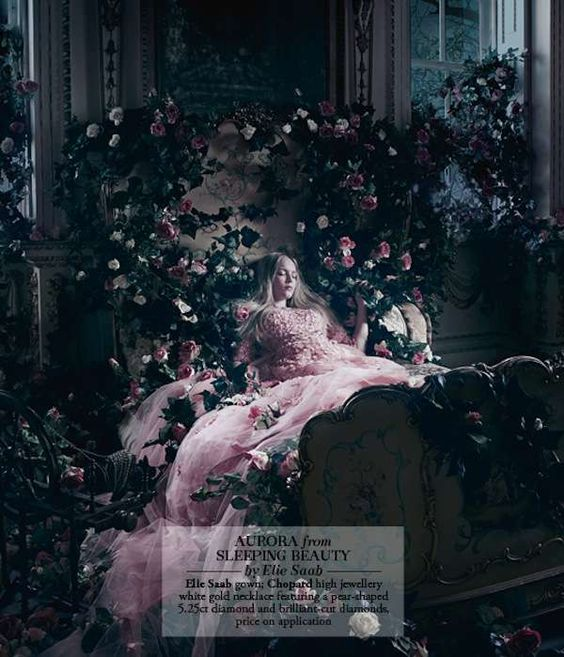 Sleeping Beauty   30 Disney Princess Editorials - From Sleeping Beauty Shoots to Fairytale Fashion (TOPLIST)