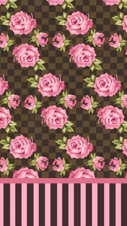 Pink Brown Flower And Pink Roses On Pinterest