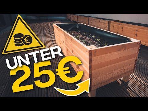 Hochbeet Selber Bauen Fur 25 Youtube In 2020 Hochbeet Hochbeet Selber Bauen Garten Hochbeet