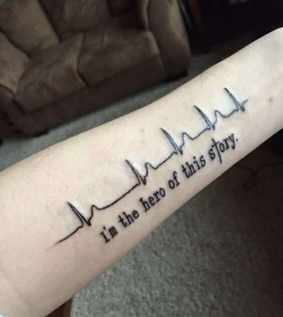 100 Amazing Heartbeat Tattoo Designs For Man And Woman Dad Tattoo Tumblr Mom Dad Heartbe In 2020 Heartbeat Tattoo Design Names Tattoos For Men Family Tattoos For Men