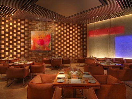 Modern Restaurant Interior Design Restaurant Architecture - innovatives decken design restaurant