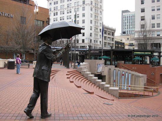 Pioneer Square, Portland, OR