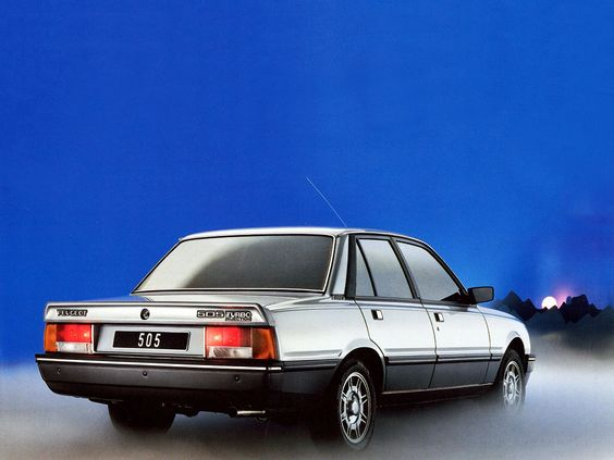 #Peugeot 505 Turbo Injection
