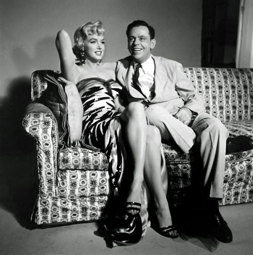 Rare promotional photograph for The Seven Year Itch (1955)