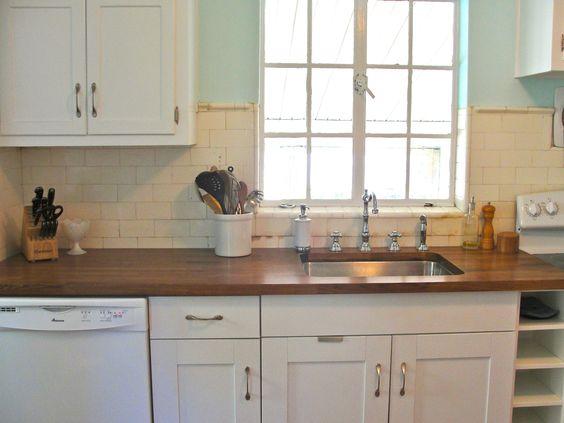 Dark Wood Butcher Block Countertops   Google Search | AJL Kitchen U0026 Bath |  Pinterest | Butcher Blocks, Dark Wood And Countertops