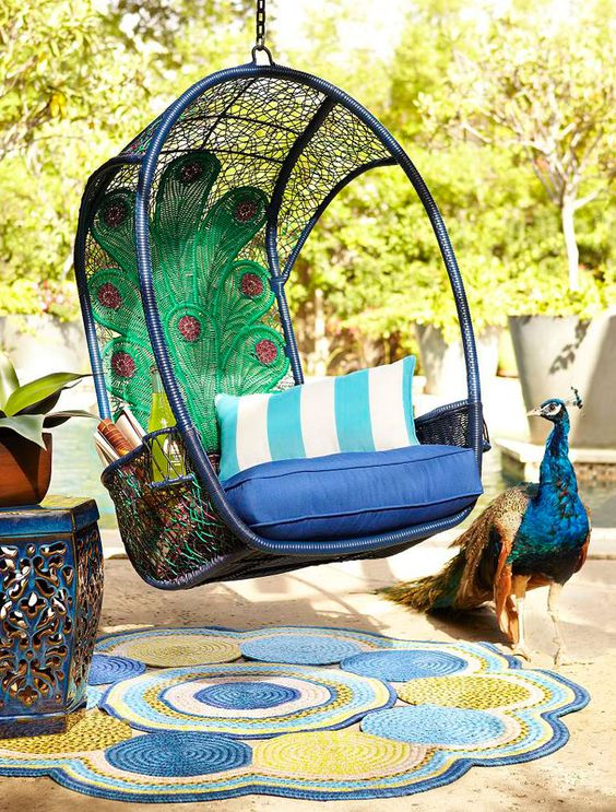 Mom will be hippy and happy in a Peacock Swingasan®: