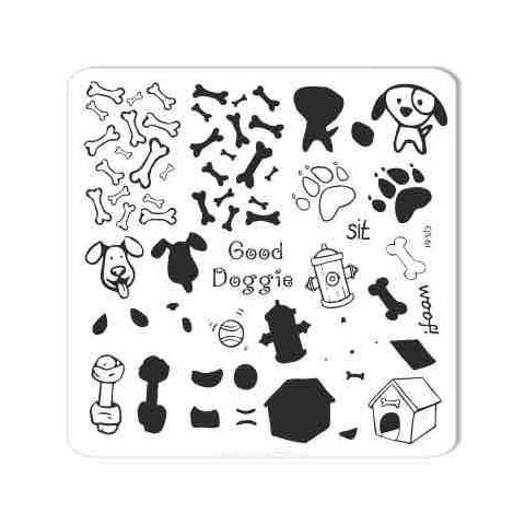 COMING SOON Clear Jelly Stamper- Woof (CjS-61)