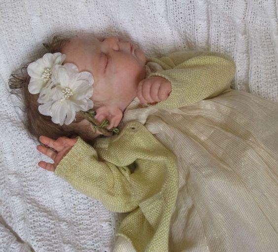Doves Nursery ~ Reborn New Born Baby GIRL ~ KNOX ~ Laura Lee Eagles Sculpt