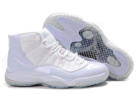 All White Jordan Concords 11\'s   Kicks   Pinterest   Sexy, Jordans