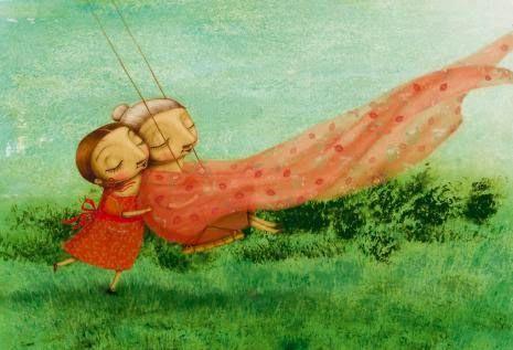 Hilos de colores: álbum ilustrado sobre el alzheimer  Elena Ferrándiz
