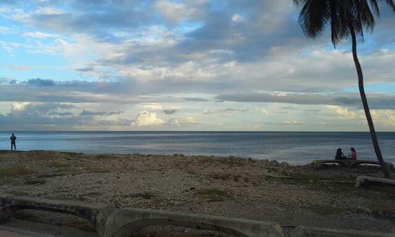 Hermoso atardecer en Santo Domingo, R.D