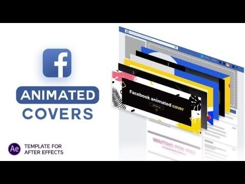 Facebook Animated Covers Videohive Project Templates After Effects Facebook Cover Design Videohive