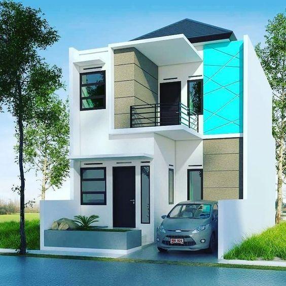 Rumahidaman Desain Eksterior Rumah Minimalis Home Fashion