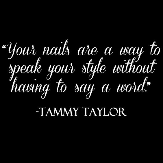Tammy Taylor Nails Quotes https://twitter.com/KatyLambson http://instagram.com/katy_lambson_forever13 http://www.sugarnspiceservices.com/ https://www.facebook.com/pages/Sugar-N-Spice-Services/154124371266652?ref=bookmarks http://www.knowyournails.com/