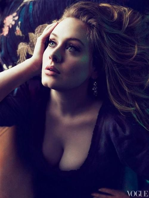Adele,for vogue