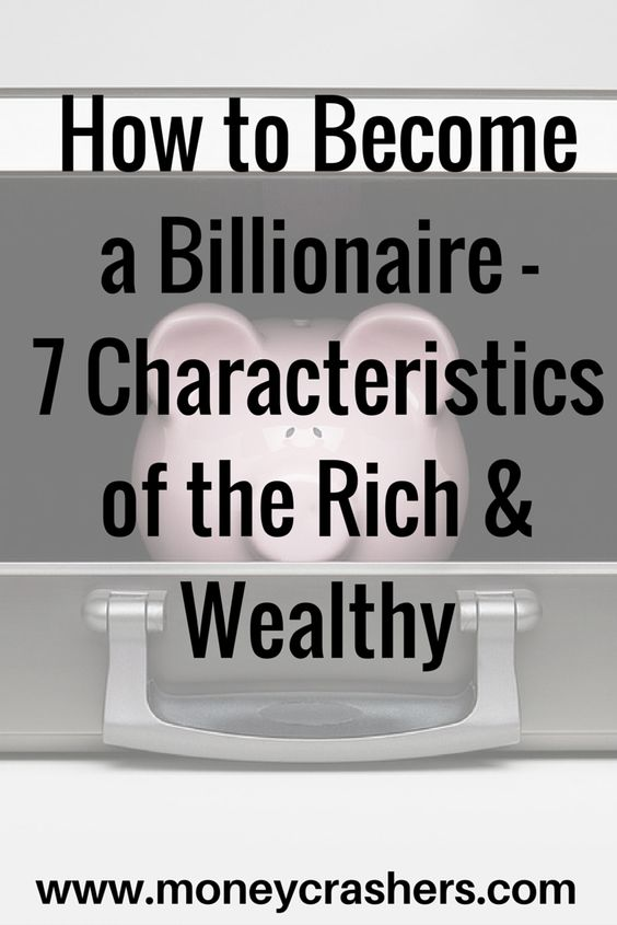 how to become a wealthy person