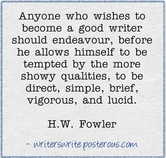 From reading to writing..requires a voracious appetite for words!