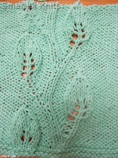 Vine Leaf Knitting Pattern : Embossed Twining Vine Leaf Dishcloth Knitting Patterns ...