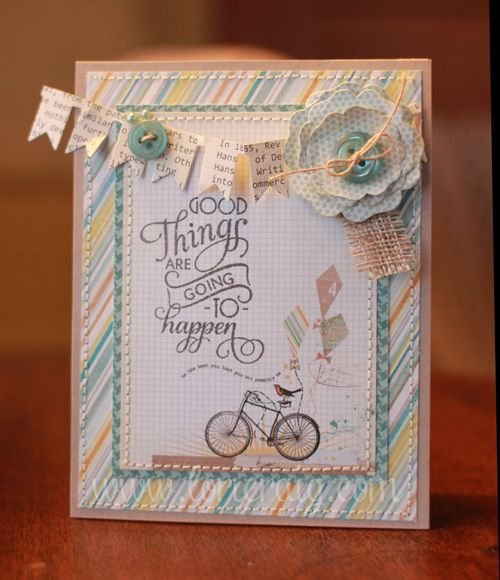 Card by Lori Craig using Verve Stamps.  #vervestamps