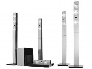 Home Theater Samsung HT-F9750W com Blu-Ray 3D - 1300W 7.1 Canais Wi-Fi Bluetooth HDMI e USB