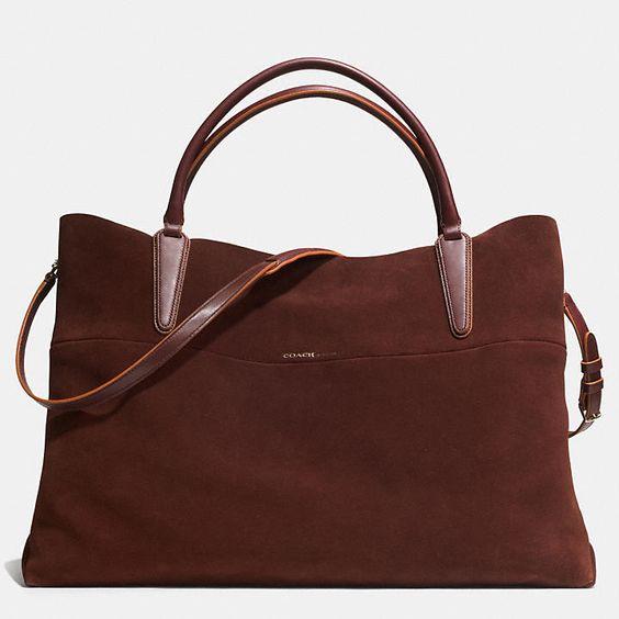 chole bag - Coach XL SOFT BOROUGH BAG IN SUEDE | Stuff to Buy | Pinterest ...