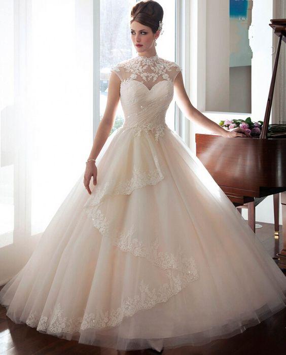 aliexpresscom acheter robe de noiva de renda 2016 nouvelle arrive romantique casamento robe - Aliexpress Mariage