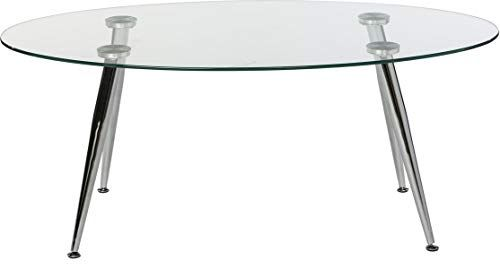 Metal Coffee Table With Glass Top Oval Coffee Table With Angled