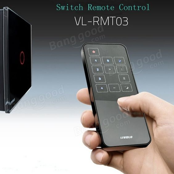 Livolo New Style Wall Light Touch Switch Remote Controller VL-RMT-03 Sale - Banggood.com