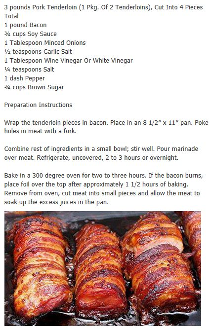 Pork tenderloin-I made this tonight.....awesome