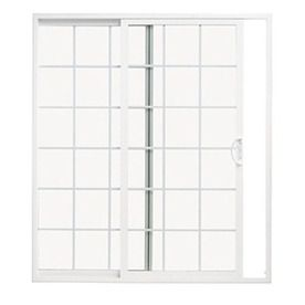 Thermastar by pella 10 series grilles between the for 70 sliding patio door