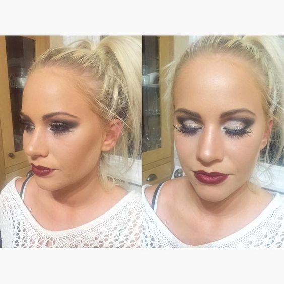 Makeup I did on stunning Charlotte!  #nofilter #mua #makeup #makeupselfie #makeupartist #makeupdolls #makeupaddicts #makeuptalk #talkthatmakeup #makeupoftheday #smokeyeyes #paintthatface #makeupmafia #makeuplove #makeupinspo #practiceyourcraft #practiceyourpassion #girlslovemakeup #girlsloveselfies #girltalk #makeuptalk #mac #maccosmetics #makeupdolls by alma_calida