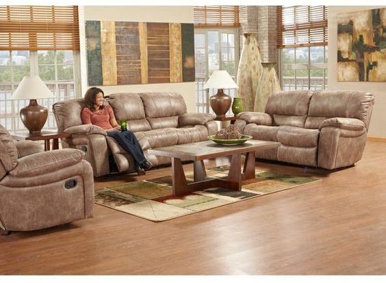 Living Room Sets With Hdtv cindy crawford home alpen ridge 7 pc power living room
